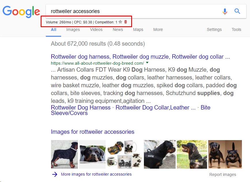 smart keyword research on Google