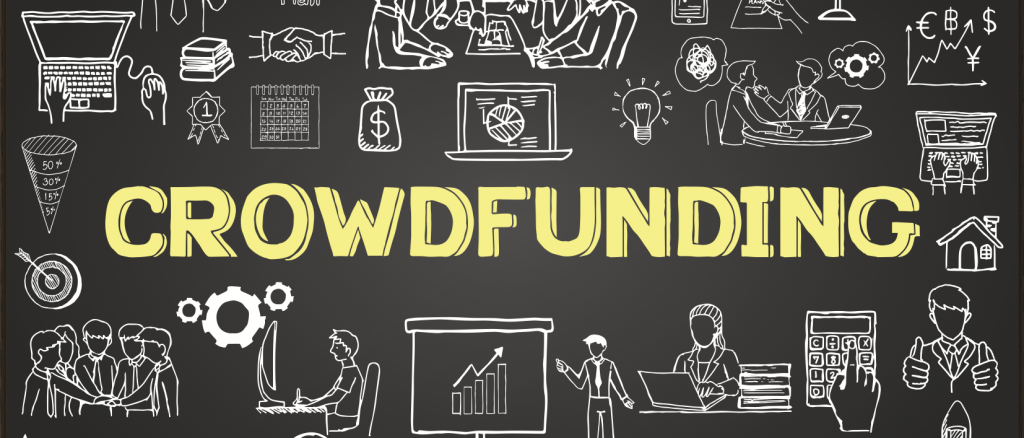 Promote a product with crowdfunding
