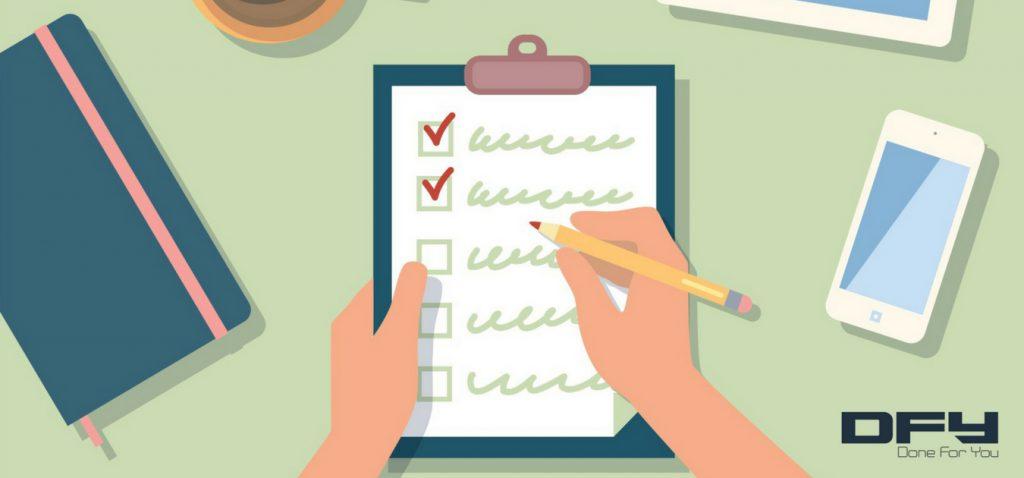 landing page checklist