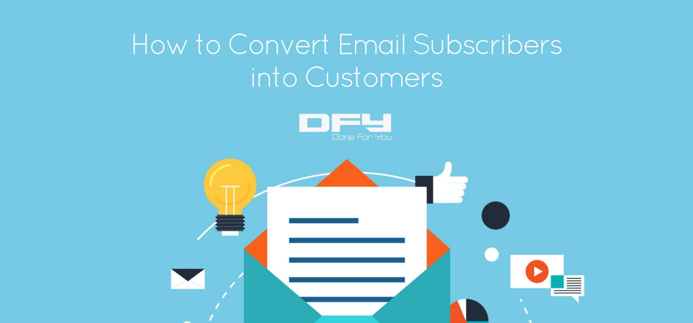 Email Subscribers Not Converting Into Customers? Here's What You Need To Do…
