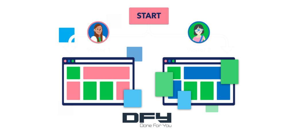 track website traffic - web personalization