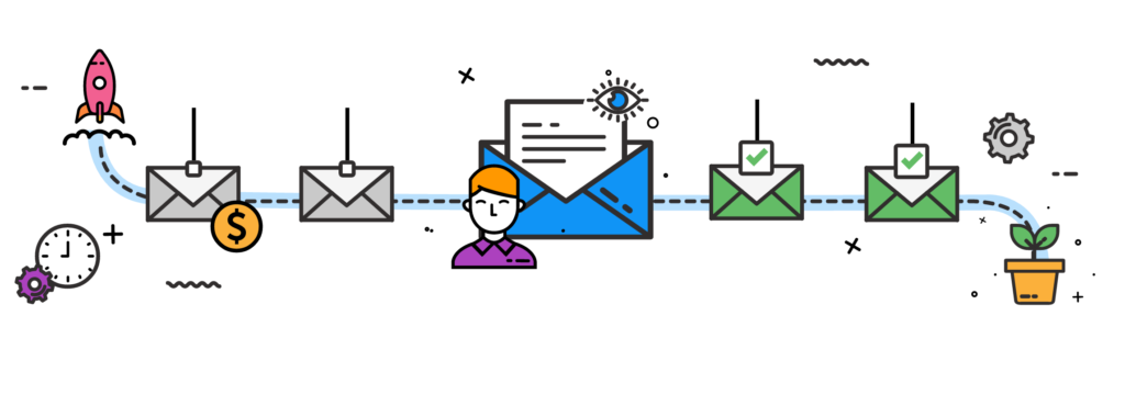 Email drip campaigns for lead nurturing