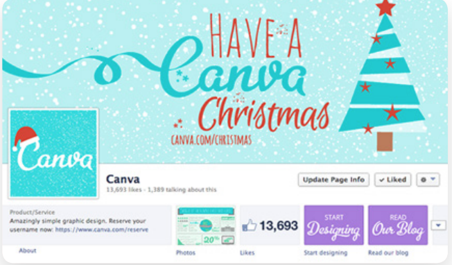 Canva Christmas Campaign