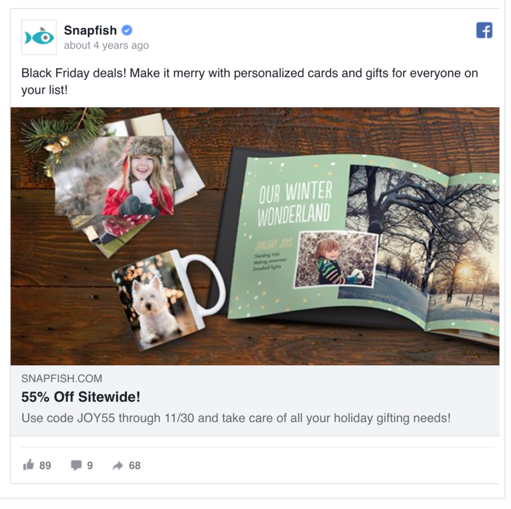 Snapfish Campaigns