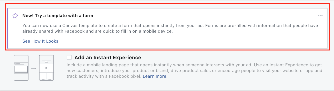 Facebook Lead Gen Forms