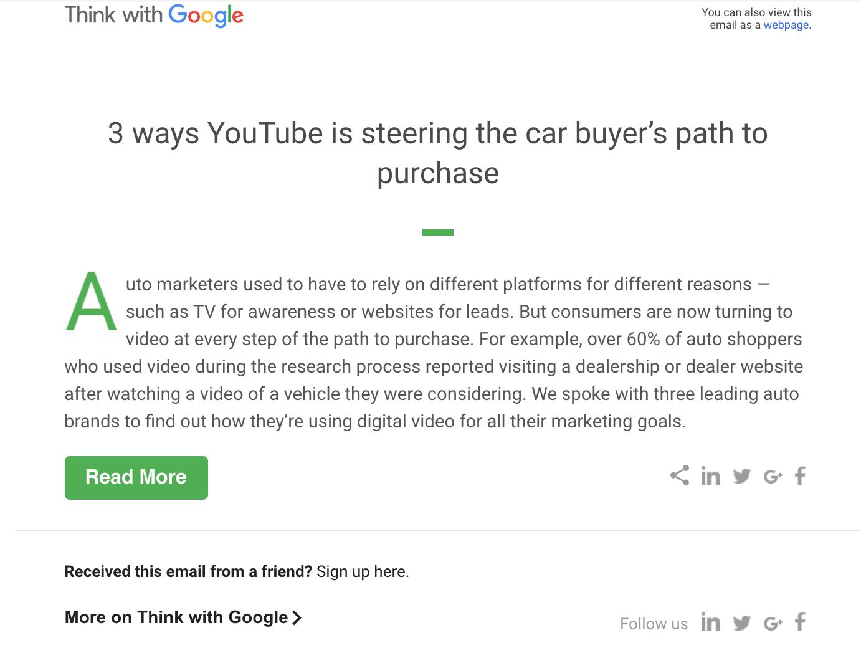 ThinkWithGoogle Email