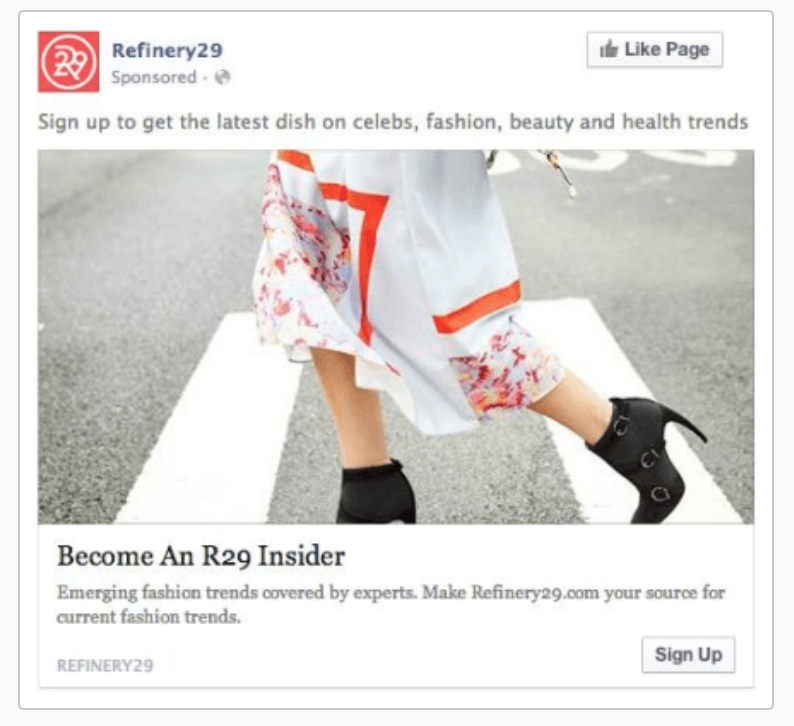 Refinery29 Sequenced Ads 2