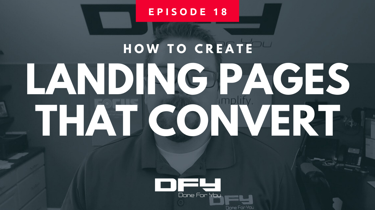 How To Create A Landing Page That Converts [Updated]