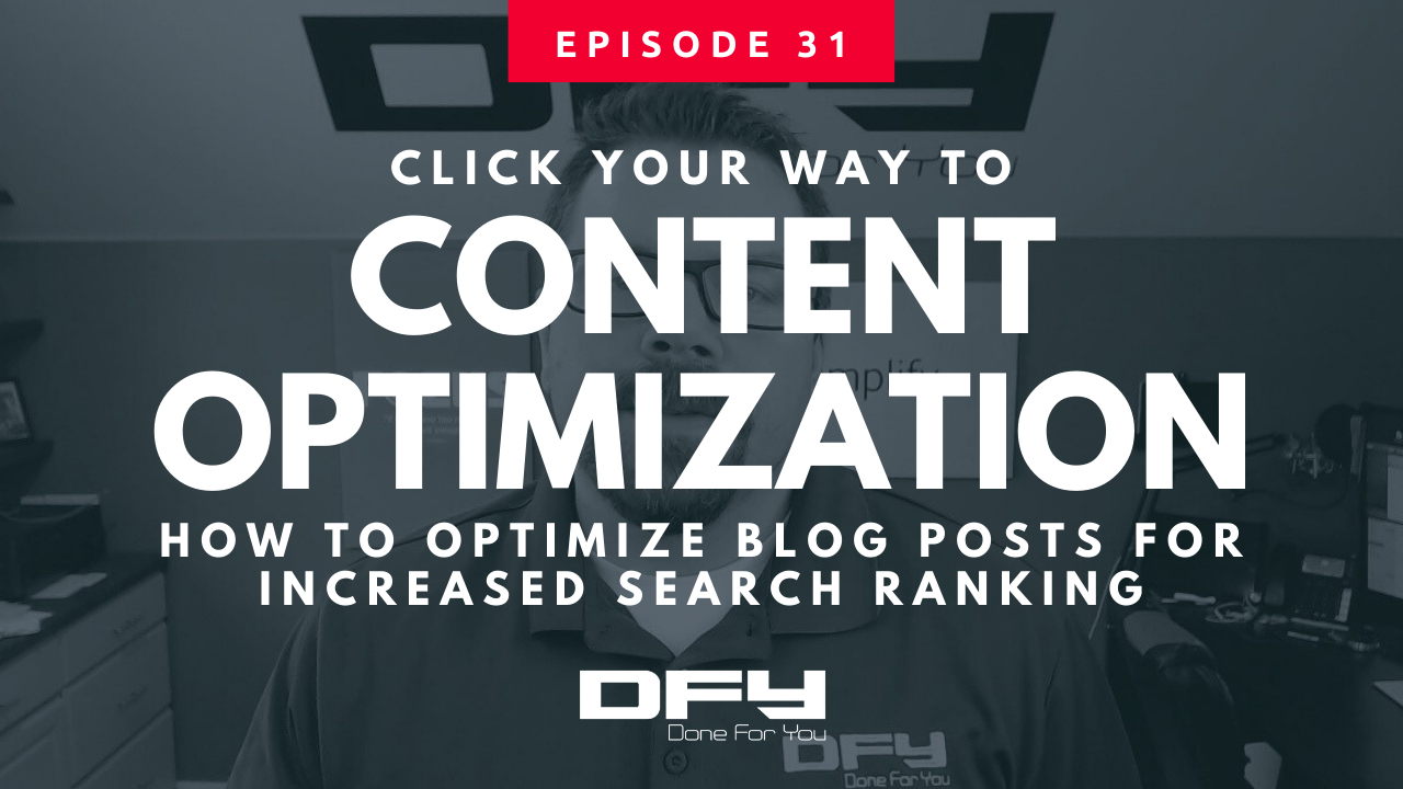 The 5-Minute Guide To Content Optimization