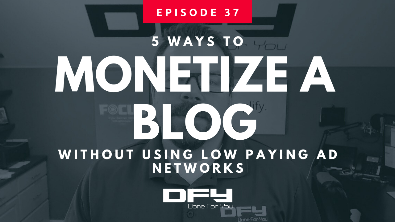 5 Profitable Ways To Monetize a Blog Without Using Ads