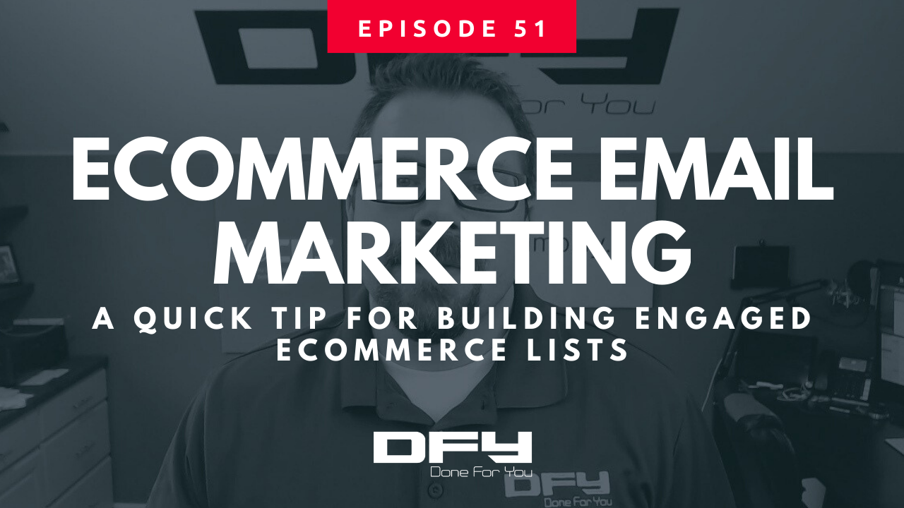 eCommerce Email Marketing – Quick Tip For Building eCom Lists
