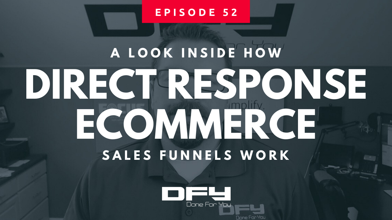 How A Direct Response eCommerce Sales Funnel Works