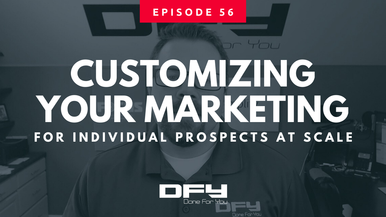 How To Deliver Personalized Marketing Messages At Scale