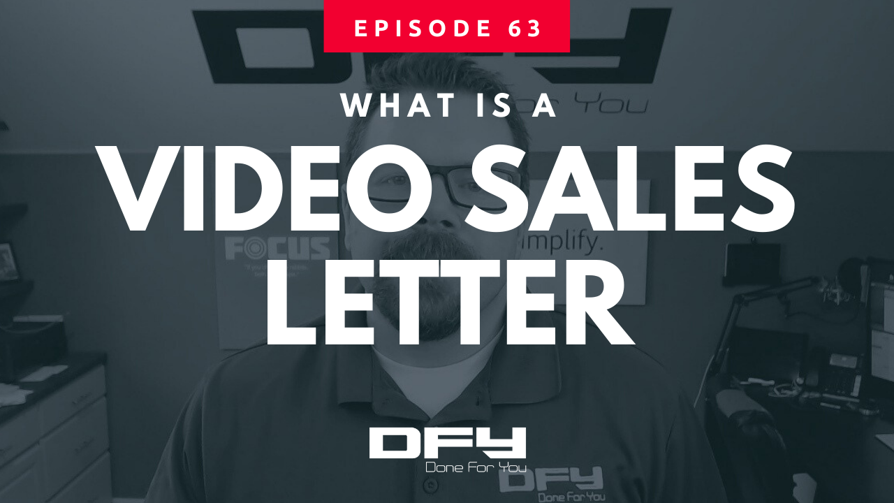 What Is A Video Sales Letter (or VSL for short)