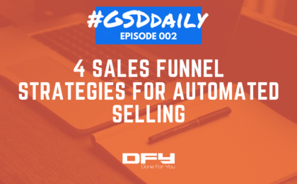 4 sales funnel strategies for automated selling