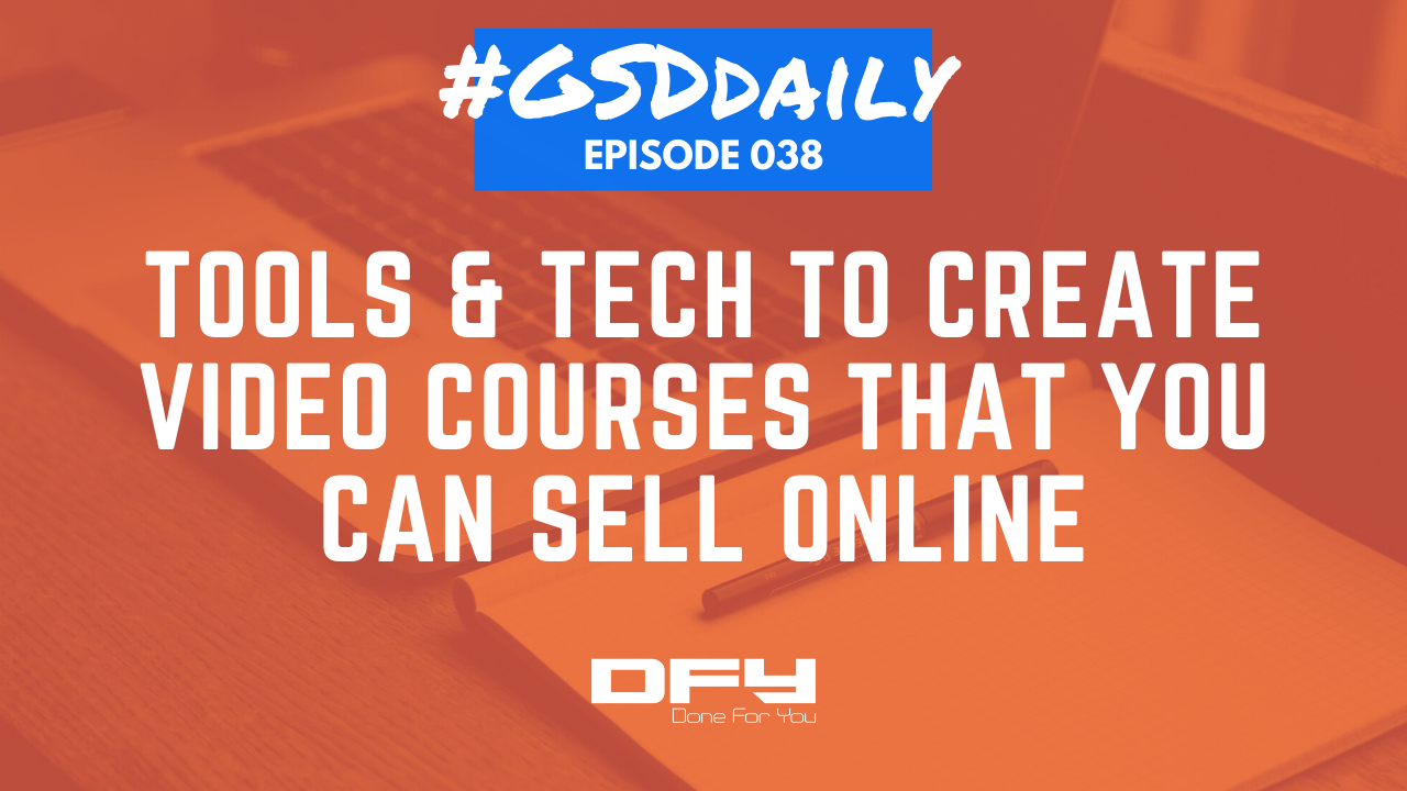 How to Make A Video Course: Tools, Tech, Hardware, and Software