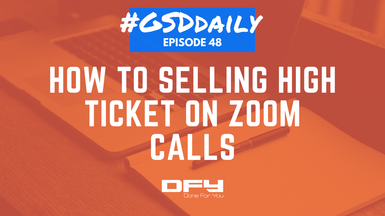 How To Do Face To Face Sales On Zoom Calls