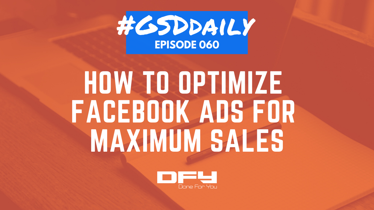 Optimize Facebook Ads On The Fly Using Their Data!