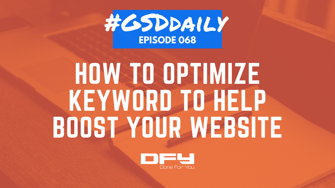 How To Optimize Keyword To Improve Your Website's Ranking