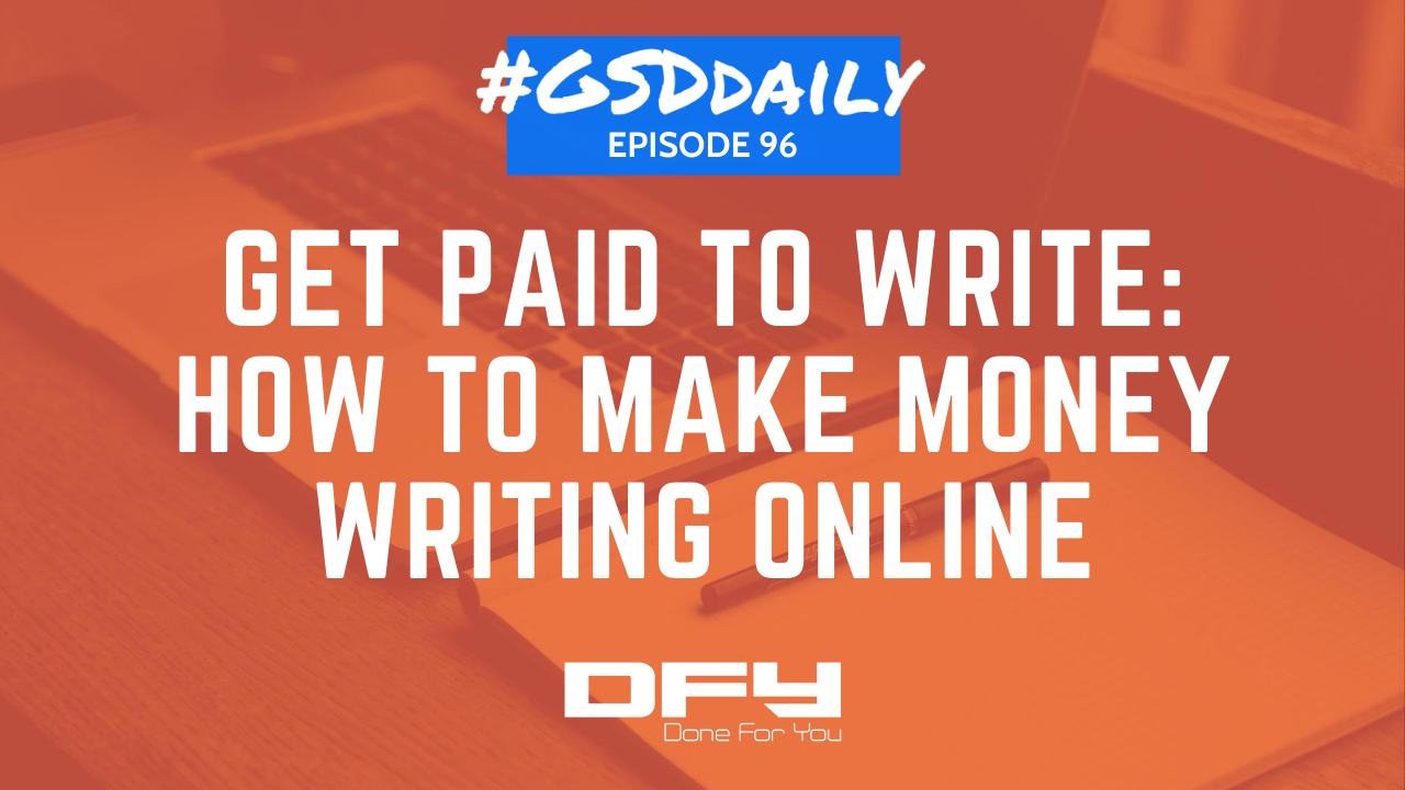 Get Paid To Write: Blogging And Posting Online