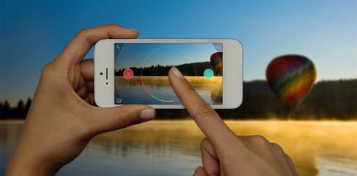Recording Video on Mobile using Spark Camera App