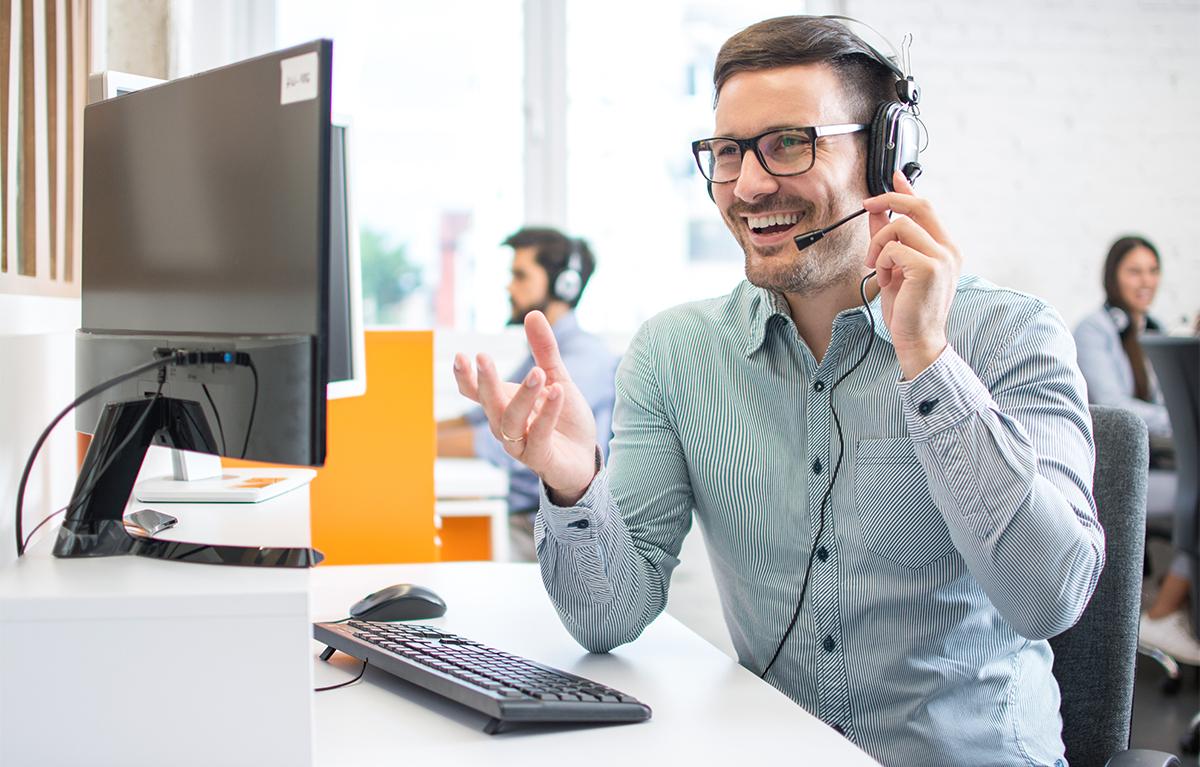 sales call